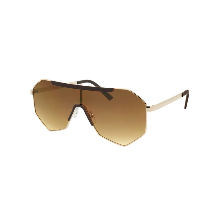 Wholesale Assorted Colors Metal UV400 Aviator Fashion Sunglasses Women | 1 Dozen with Tags | DS252