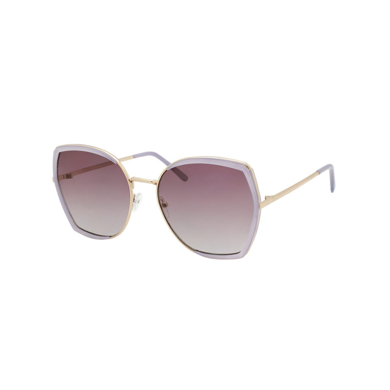 Wholesale Metal Assorted Colors UV400 Cat Eye Fashion Sunglasses Women   1 Dozen with Tags   DS282