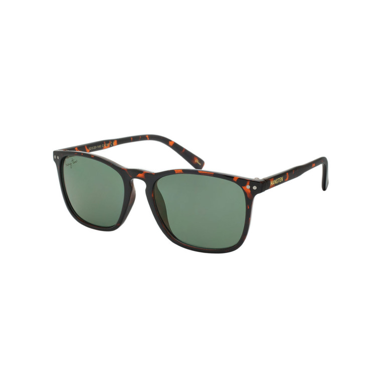 Wholesale Hang Ten Smoke Color Polycarbonate UV400 Square Sunglasses Men | 1 Inner with Tags | HT30A-DZ
