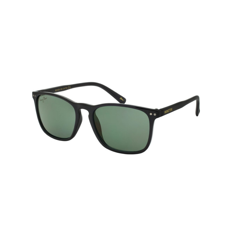 Wholesale Hang Ten Smoke Color Polycarbonate UV400 Square Sunglasses Men   1 Inner with Tags   HT30B-DZ