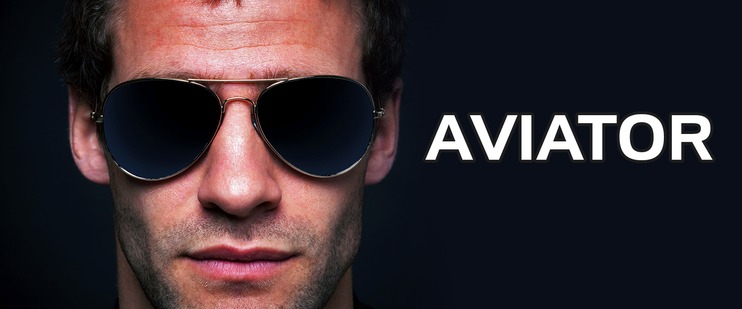 aviator sunglasses - wholesale shark eyes