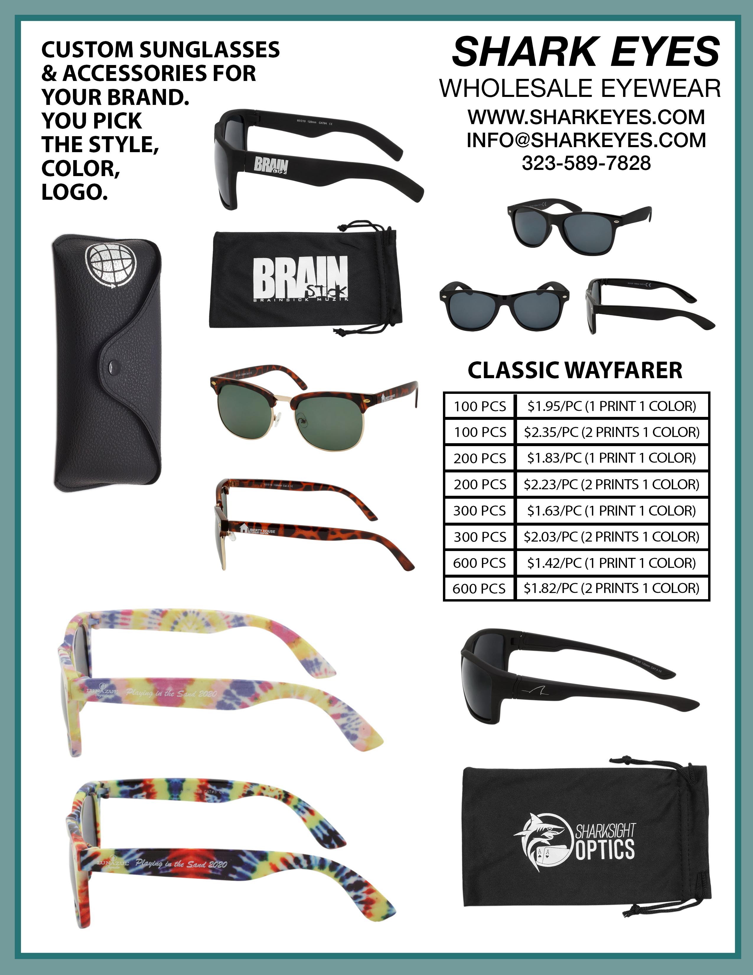 Specs for custom designs