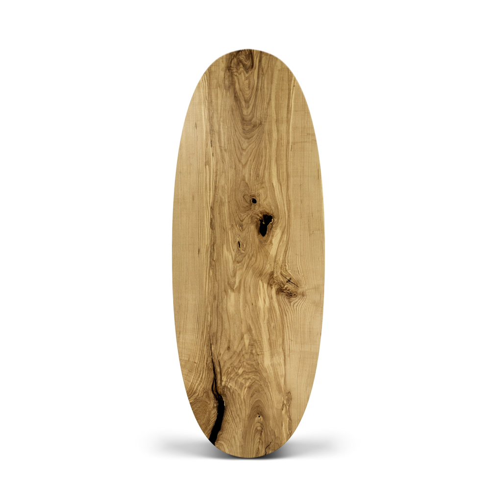 Oval with Straight or Miter edge 88 x 31