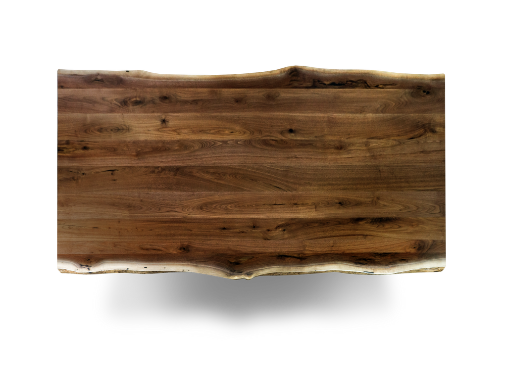 "72"" Plank Walnut Dining Table 810"