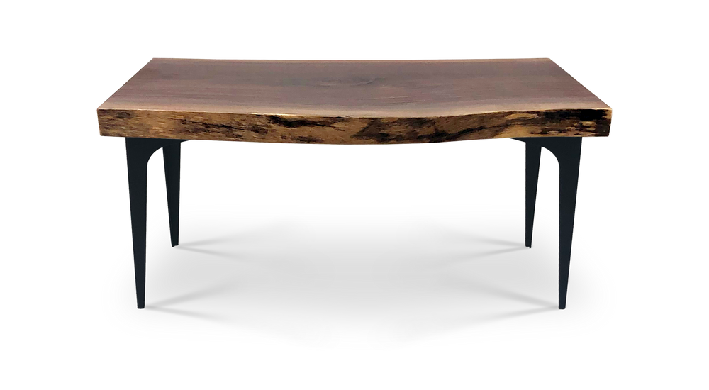 Custom Live Edge Wood Rectangle Coffee Table