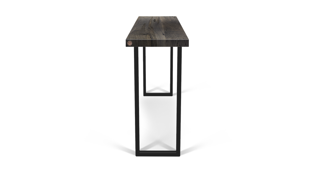 Custom Straight Edge Console Table