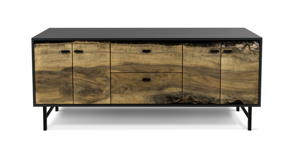274 Ebonized Maple Credenza