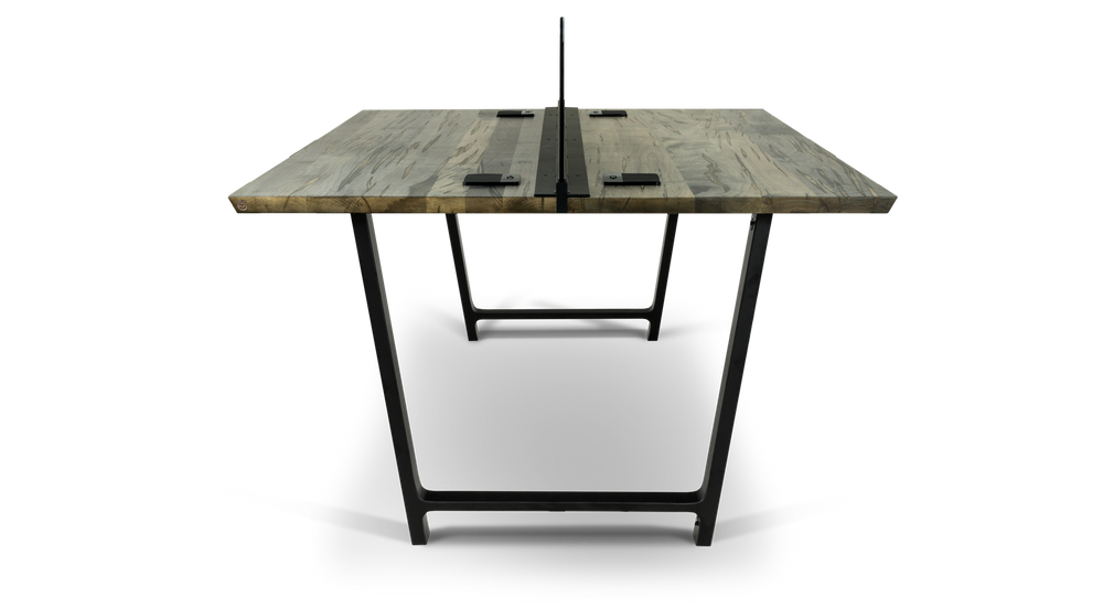 Ebonized Maple Benching System