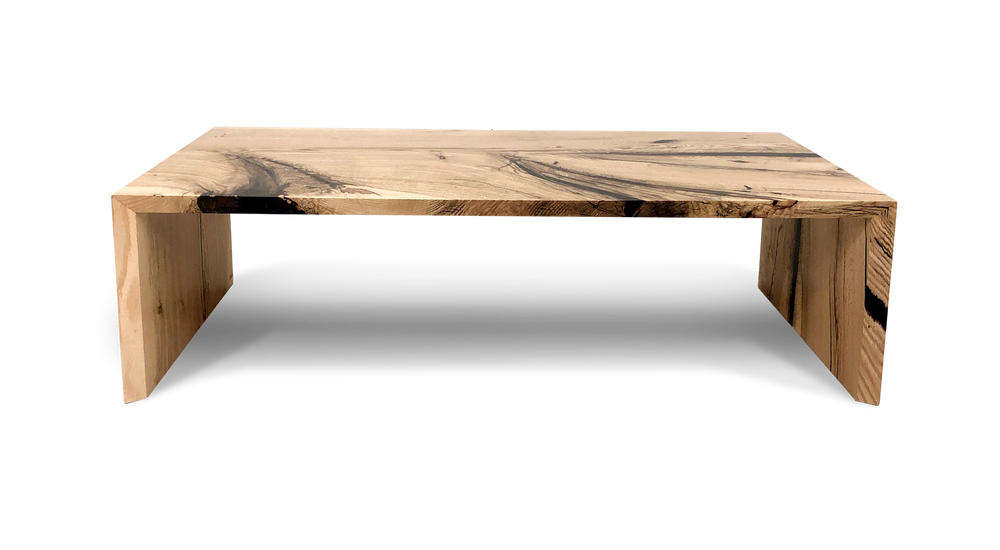 Oak Waterfall Coffee Table