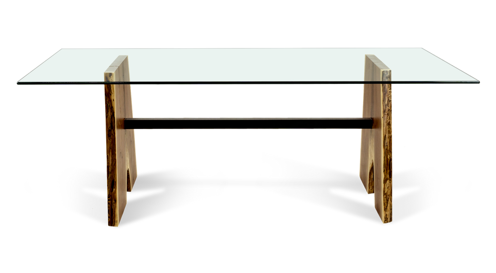 "999 84"" Dining Table with Walnut Base"