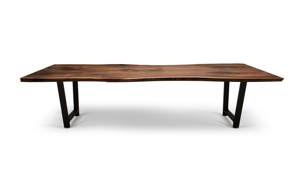 1565 Bookmatched Walnut Table