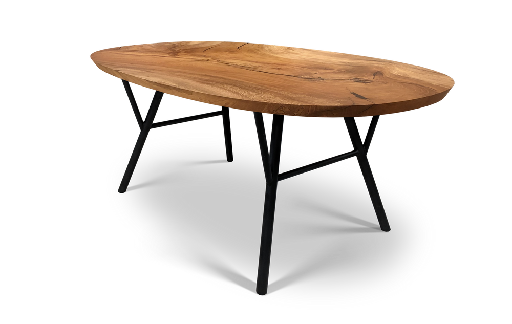810 Oval Sycamore Dining Table