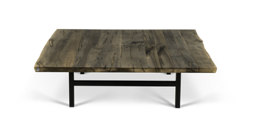 Custom Live Edge Square Coffee Table