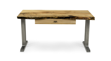 946 Live Edge Maple Desk