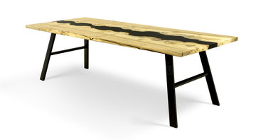 "837 96"" Mappa River Dining Table"