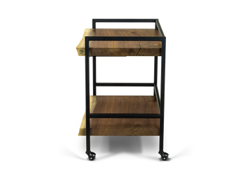 343 Walnut Bar Cart