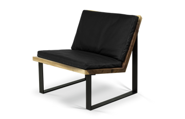 329 Lounge Chair in Walnut