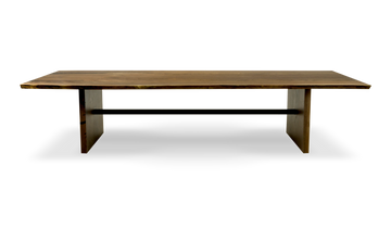 1536 Live Edge Walnut Dining Table