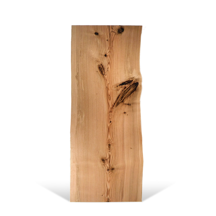 Natural with Two Live Edges 72 x 29