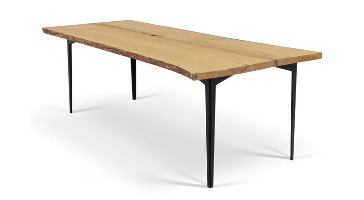 "134 84"" Solid Oak Dining Table"