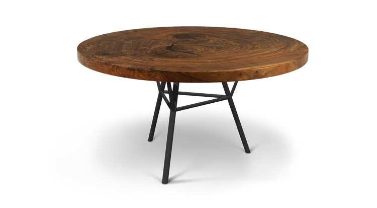 Custom Round Wood Dining Table