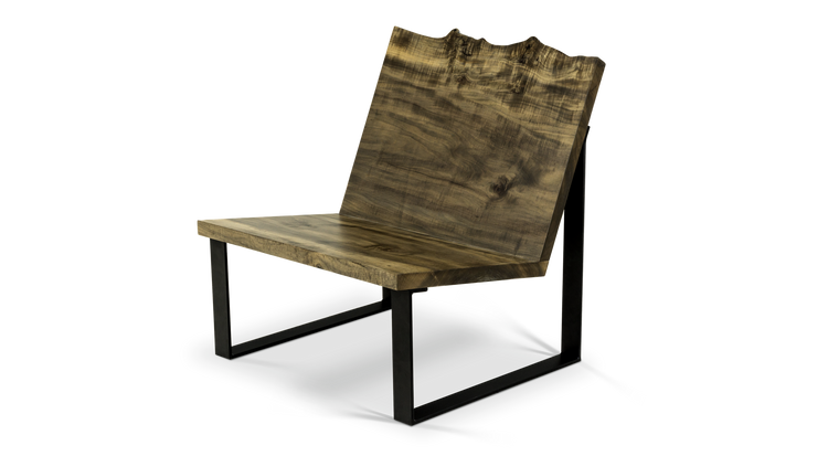 271-1 Lounge Chair in Ebonized Maple