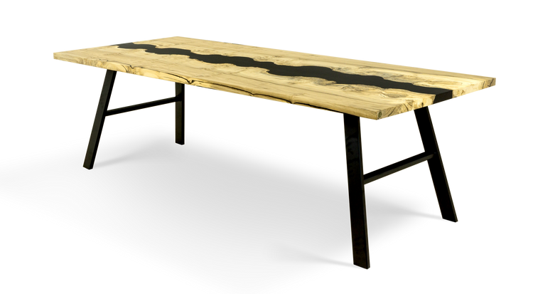 """837 96"""" Mappa River Dining Table"""