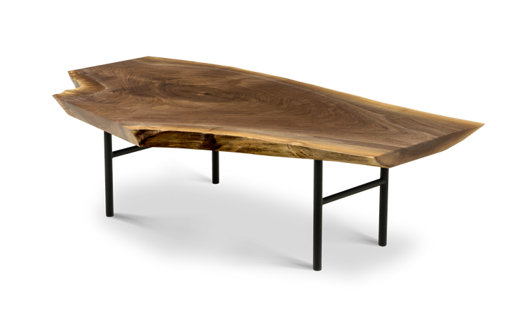 1557 Coffee Table in Walnut Maple