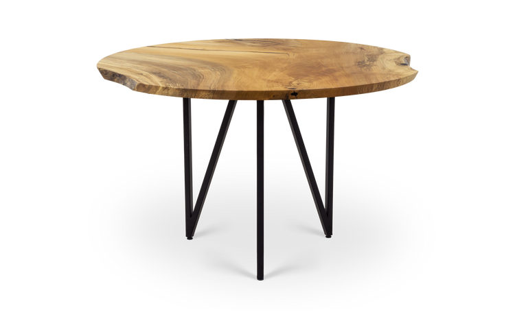 "48"" Sycamore Round Table"