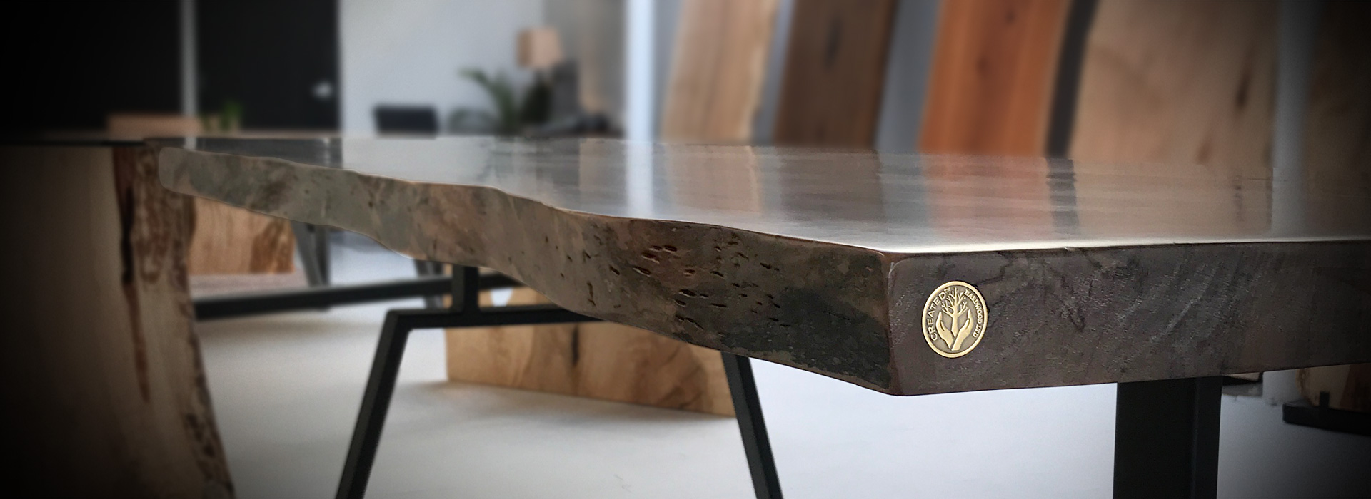 created hardwood table