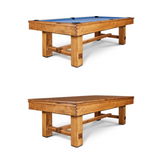 Doc & Holliday Churchill Timber Slate Pool Table | Handmade in the USA