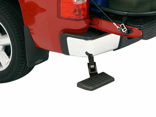 AMP Bed Step - Dual Exhaust