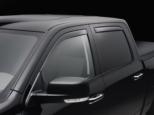 WeatherTech Window Side Deflectors - Full Set