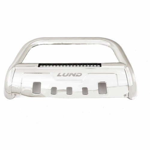Lund Polished Stainless Steel Bar - Light Bar