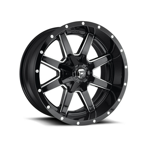 "Fuel Maverick 20"" Gloss Black Milled"