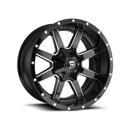 "Fuel Maverick 20"" Gloss Black Milled"