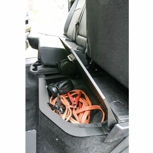 Tuffy Rear Under-Seat Storage Security Compartment