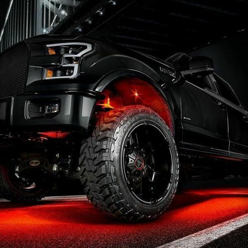X-Lume Rock Lights Kit w/Bluetooth & Extension