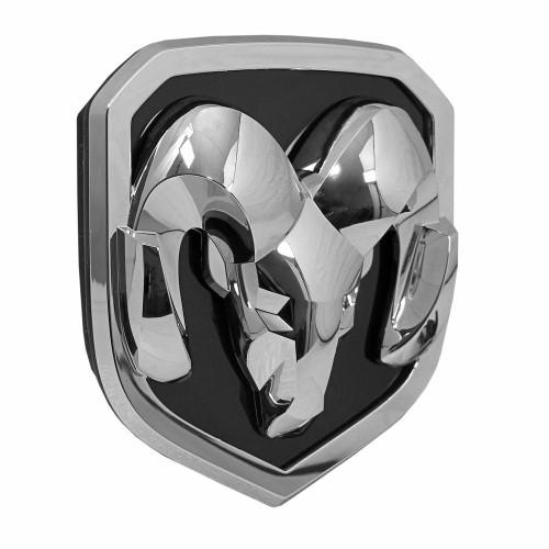 X-LUME Illuminated RAM Head Badge (Chrome)
