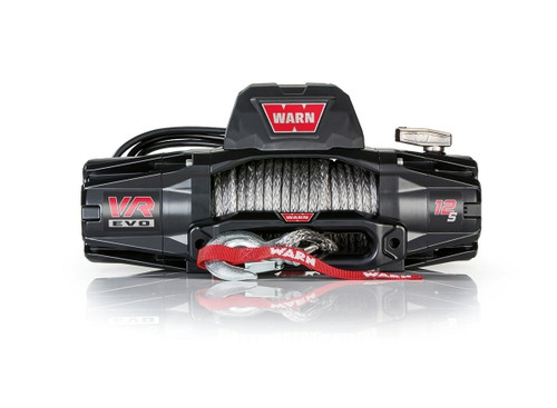 Warn VR Evo 12-S w/Synthetic Rope