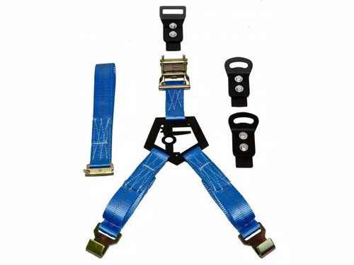 N-Fab Bed Mounted Rapid Strap Tire Carrier