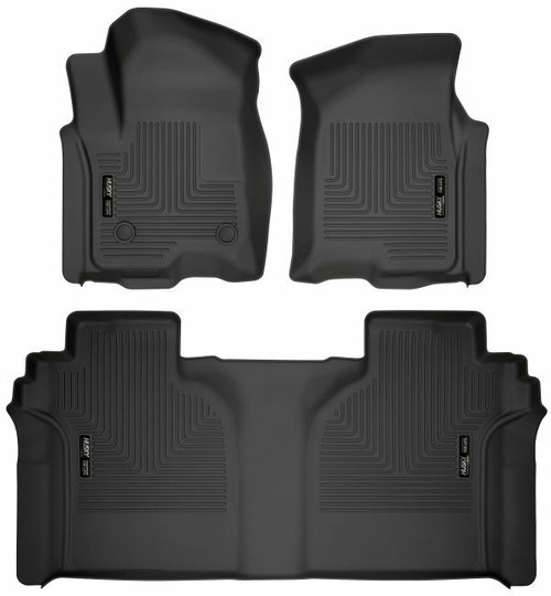 Husky WeatherBeater Front & Rear Floor Liner