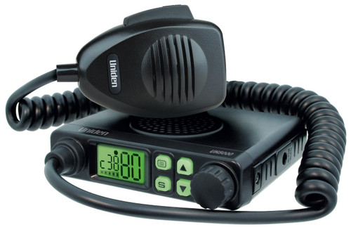 Uniden UH5000 Fixed Mount Mini Compact UHF CB Pack