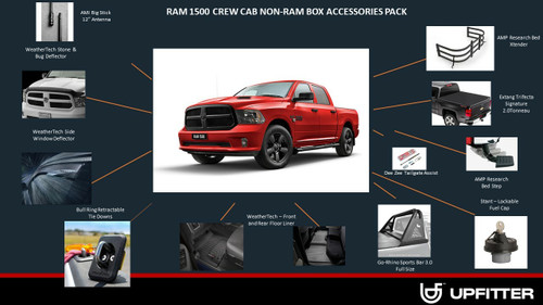 RAM 1500 DS Crew Cab w/out RAMBOX Pack