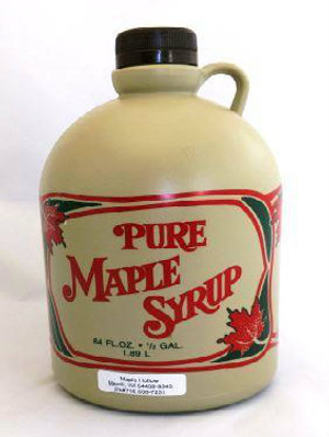 128oz (gallon)Pure Maple Syrup Dark Robust / Baking Grade, Kosher