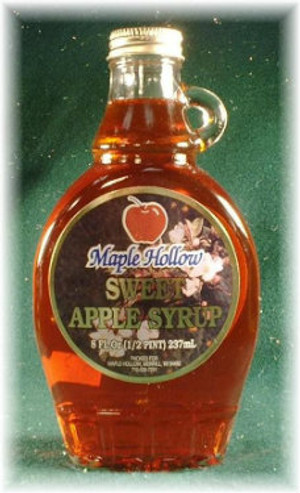 Sweet Red Apple Syrup - 8 oz bottle - 12/cs