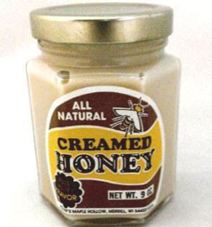 Creamed Honey - Natural Flavor - 9 oz jar