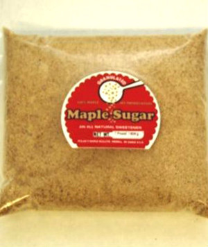 Pure Maple Sugar Granules - Bulk per pound Kosher
