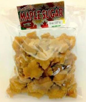 Maple Sugar Shapes - 1 pound  bag - 1 unit - Kosher