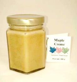 Maple Creme - 8 oz jar - 1 unit - Kosher